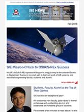 Fall 2016 SIE newsletter