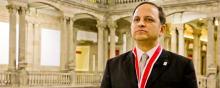 Ricardo Valerdi inducted into Mexico's Academy of Engineering; photo by Raúl Serrano