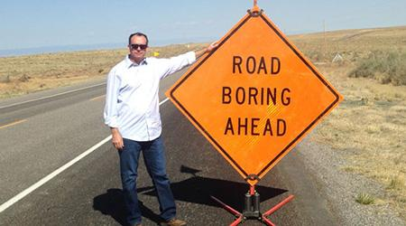 "The road is never boring, said UA traffic engineer Larry Head. ""With traffic engineering research, there's never a dull moment."""
