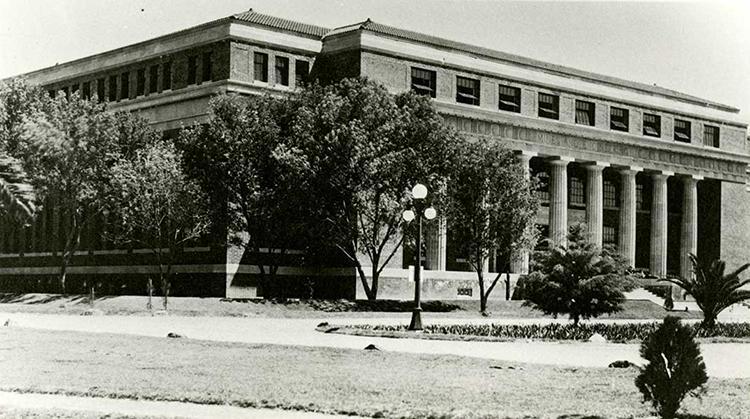 University of Arizona Old Engineering building, circa 1919